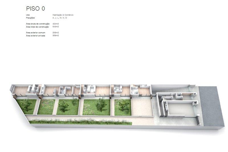 Projet approuvé pour un immeuble d'habitation et commerces - São Brás Residences - Porto / Paranhos | BVP-CD-1001 | 4 | Bien vivre au Portugal