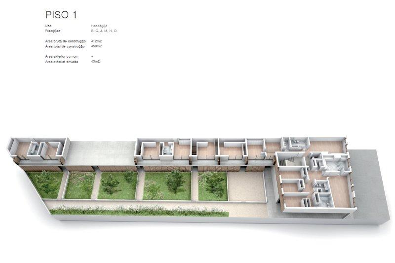 Projet approuvé pour un immeuble d'habitation et commerces - São Brás Residences - Porto / Paranhos | BVP-CD-1001 | 5 | Bien vivre au Portugal