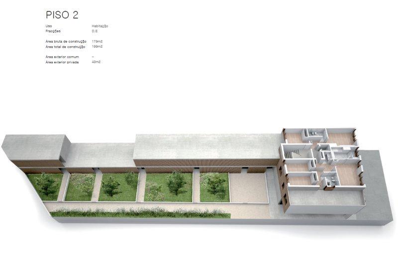 Projet approuvé pour un immeuble d'habitation et commerces - São Brás Residences - Porto / Paranhos | BVP-CD-1001 | 6 | Bien vivre au Portugal
