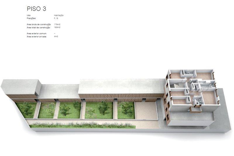 Projet approuvé pour un immeuble d'habitation et commerces - São Brás Residences - Porto / Paranhos | BVP-CD-1001 | 7 | Bien vivre au Portugal