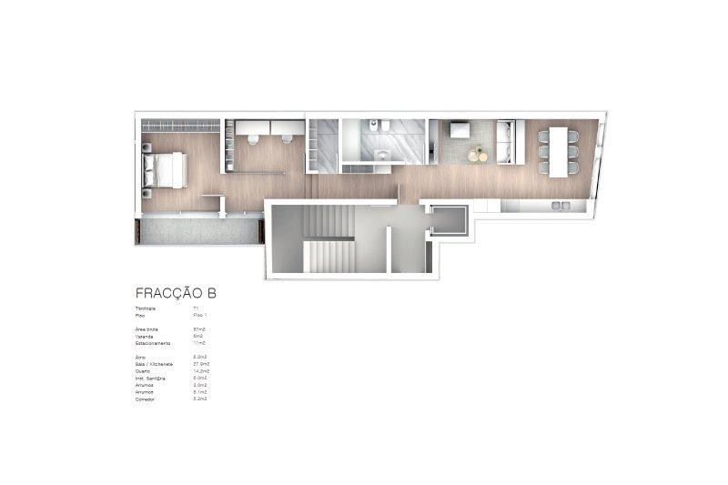 Projet approuvé pour un immeuble d'habitation et commerces - São Brás Residences - Porto / Paranhos | BVP-CD-1001 | 10 | Bien vivre au Portugal