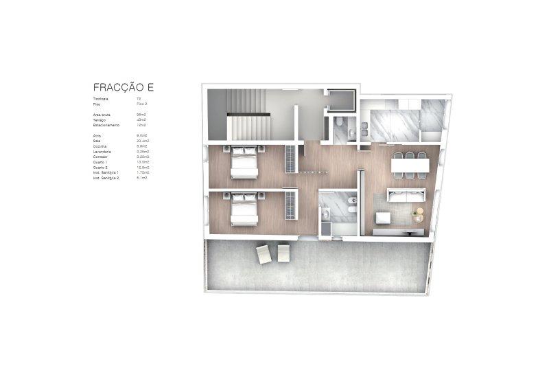 Projet approuvé pour un immeuble d'habitation et commerces - São Brás Residences - Porto / Paranhos | BVP-CD-1001 | 13 | Bien vivre au Portugal