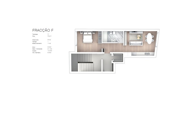 Projet approuvé pour un immeuble d'habitation et commerces - São Brás Residences - Porto / Paranhos | BVP-CD-1001 | 14 | Bien vivre au Portugal