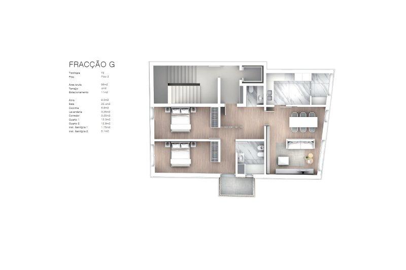 Projet approuvé pour un immeuble d'habitation et commerces - São Brás Residences - Porto / Paranhos | BVP-CD-1001 | 15 | Bien vivre au Portugal