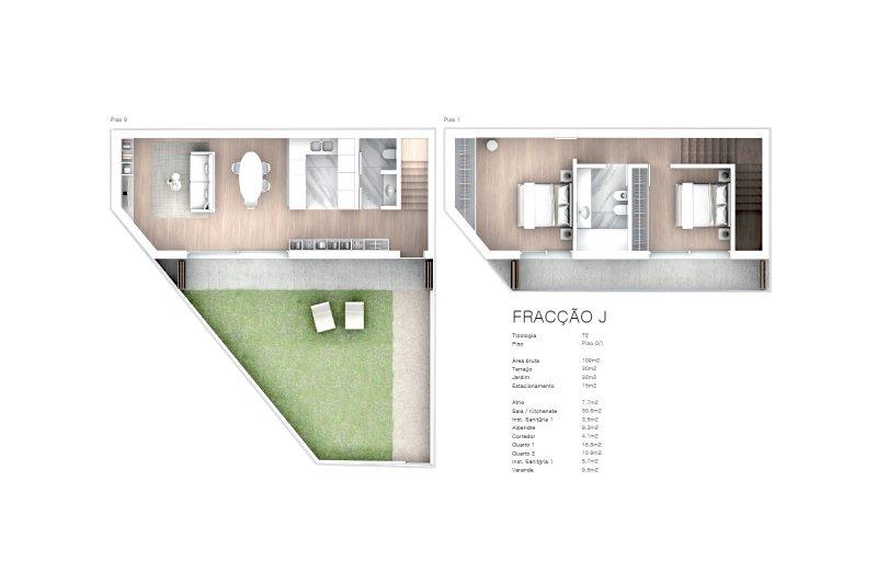 Projet approuvé pour un immeuble d'habitation et commerces - São Brás Residences - Porto / Paranhos | BVP-CD-1001 | 18 | Bien vivre au Portugal