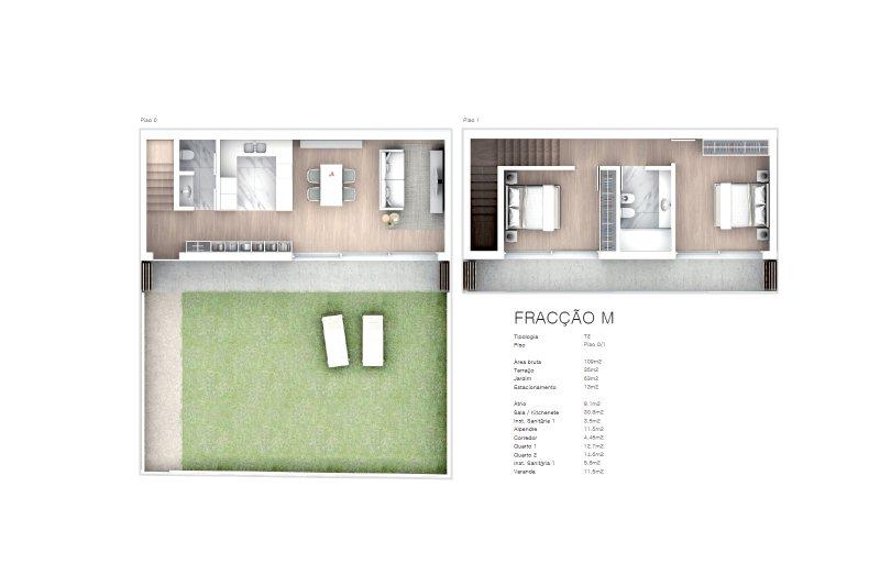 Projet approuvé pour un immeuble d'habitation et commerces - São Brás Residences - Porto / Paranhos | BVP-CD-1001 | 20 | Bien vivre au Portugal