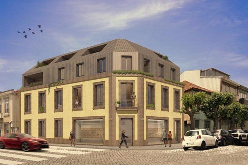 Programme immobilier - T2,T3,Boutique - Espinho / Aveiro   BVP-TD-1007   1   Bien vivre au Portugal