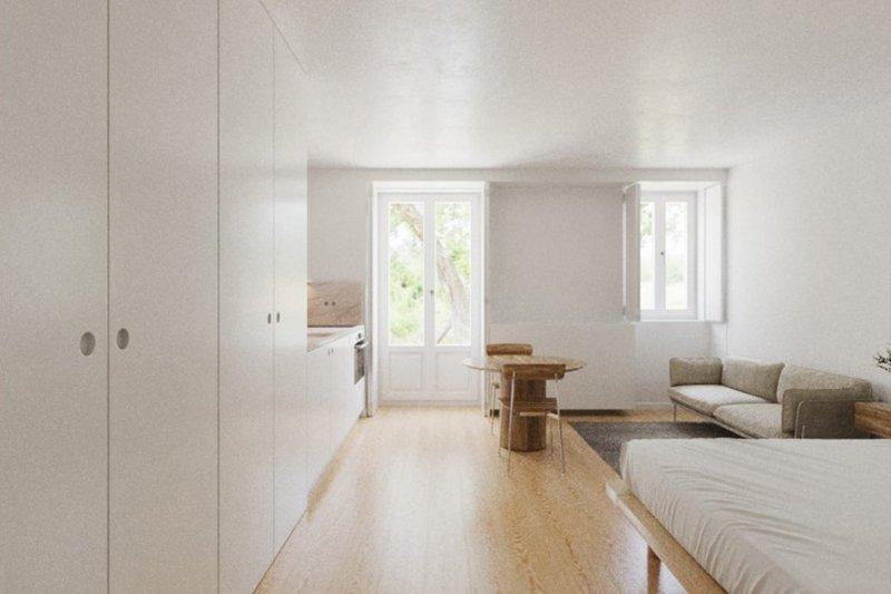 Studio T0 de 33 m² - Misericórdia / Bairro Alto   BVP-FaC-1076   2   Bien vivre au Portugal