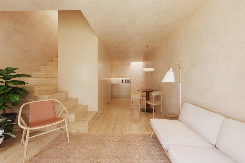 Studio T0 de 33 m² - Misericórdia / Bairro Alto   BVP-FaC-1076   3   Bien vivre au Portugal