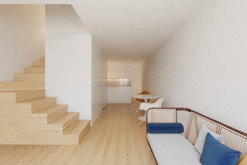 Studio T0 de 33 m² - Misericórdia / Bairro Alto   BVP-FaC-1076   4   Bien vivre au Portugal