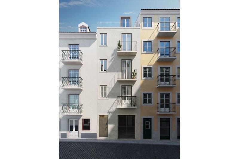 Studio T0 de 33 m² - Misericórdia / Bairro Alto   BVP-FaC-1076   6   Bien vivre au Portugal