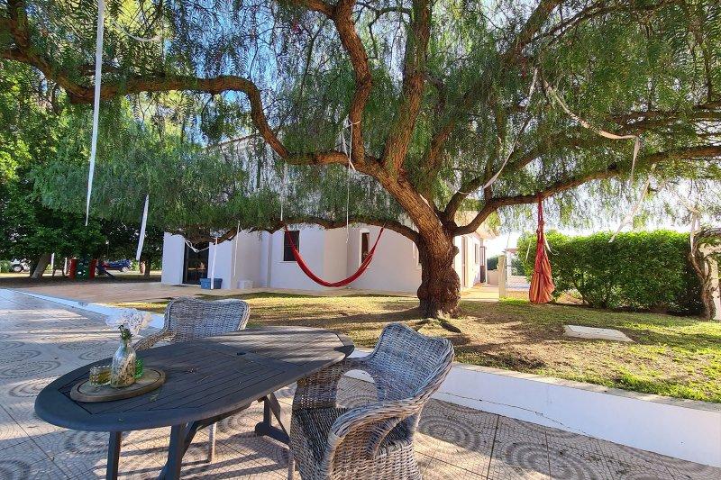 Maison individuelle T5 avec piscine + 2 annexes - Santa Barbara de Nexe | BVP-TMR-1083 | 31 | Bien vivre au Portugal