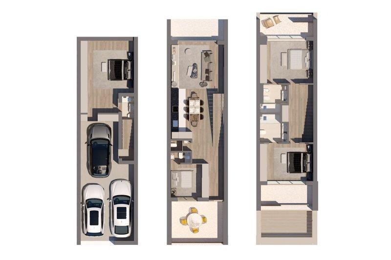 Desarrollo inmobiliario: Moradias do Alvor - T2 (with possibility of transforming into T4) - Alvor /Faro | BVP-GA-1085 | 12 | Bien vivre au Portugal