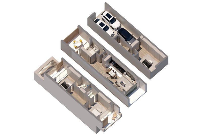 Desarrollo inmobiliario: Moradias do Alvor - T2 (with possibility of transforming into T4) - Alvor /Faro | BVP-GA-1085 | 13 | Bien vivre au Portugal