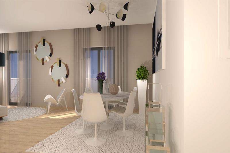 Appartement t3 neuf campo de ourique vendre lisbonne for Appartement t3 neuf