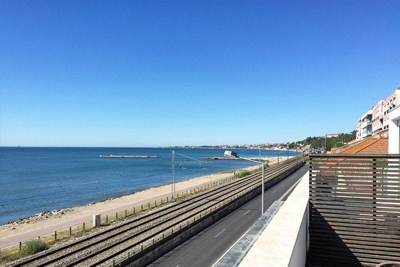 Duplex T3 de 200 m² vista frontal de Río y Mar - Algés / Oeiras   BVP-FC-670   6   Bien vivre au Portugal