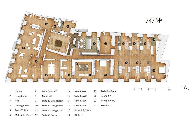 Exceptionnel appartement en Duplex de 747 m² - Misericórdia / Chiado | BVP-FC-671 | 10 | Bien vivre au Portugal