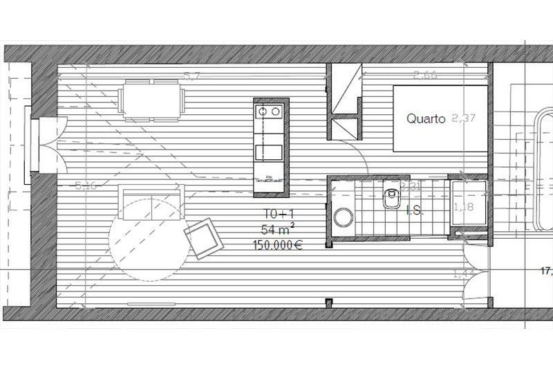 Loft T0+1 de 54 m² - Bonfim | BVP-iW-870 | 6 | Bien vivre au Portugal