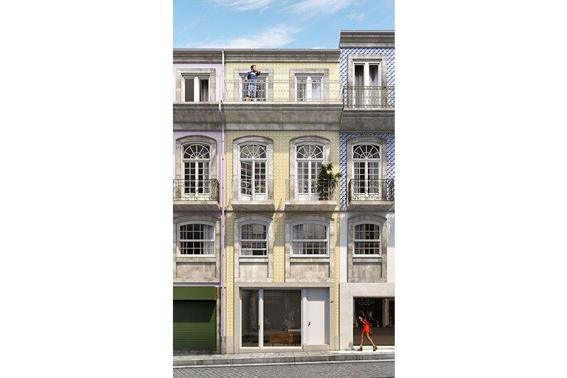 Studio T0+1 de 65 m² - Baixa do Porto / Vitória   BVP-FaC-875   4   Bien vivre au Portugal