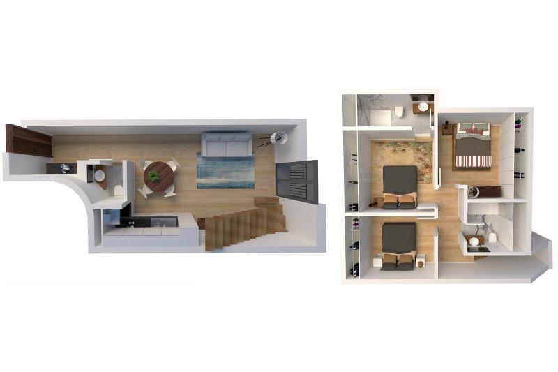 Duplex T3 de 92 m² - Baixa do Porto / Vitória | BVP-FaC-883 | 3 | Bien vivre au Portugal