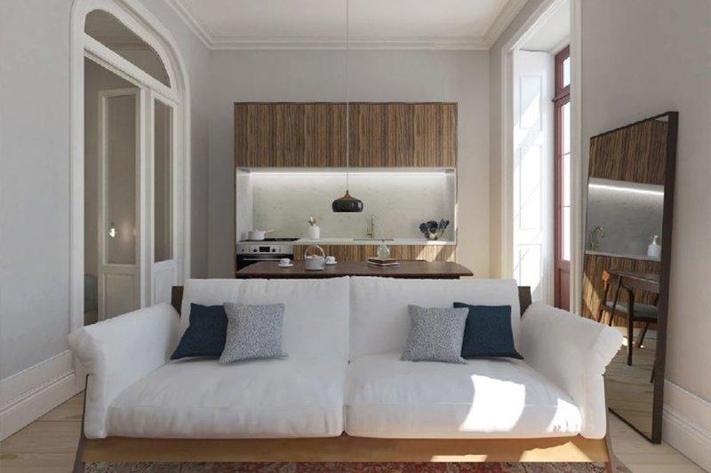 Studio T0+1 de 40 m² - Baixa do Porto / Cedofeita   BVP-iW-885   2   Bien vivre au Portugal