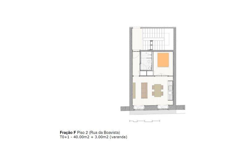Studio T0+1 de 40 m² - Baixa do Porto / Cedofeita   BVP-iW-885   3   Bien vivre au Portugal