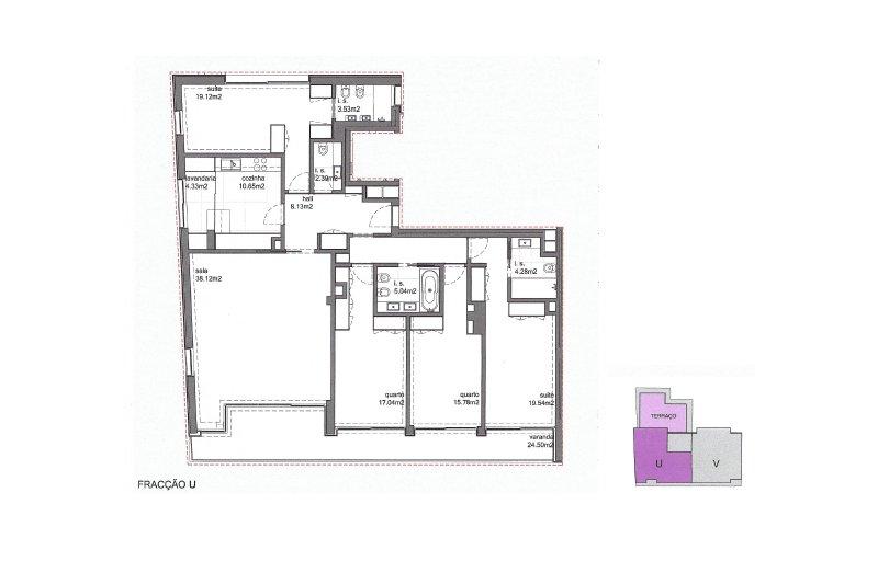 Appartement T4 de 186 m² avec grande terrasse privative - Espinho   BVP-SA-912   10   Bien vivre au Portugal