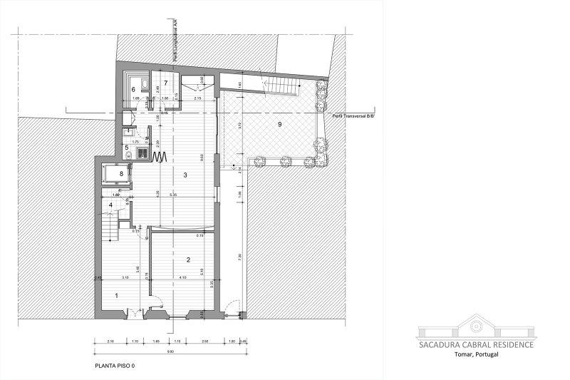 Prédio de 398 m² - Sacadua Cabral Residence - Centro histórico da cidade de Tomar | BVP-TD-928 | 5 | Bien vivre au Portugal