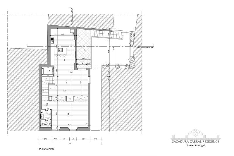 Prédio de 398 m² - Sacadua Cabral Residence - Centro histórico da cidade de Tomar | BVP-TD-928 | 6 | Bien vivre au Portugal