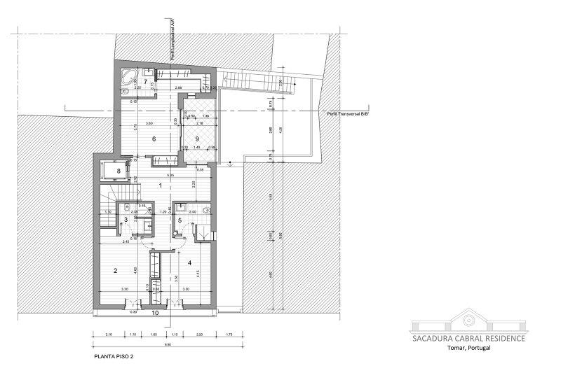 Prédio de 398 m² - Sacadua Cabral Residence - Centro histórico da cidade de Tomar | BVP-TD-928 | 7 | Bien vivre au Portugal