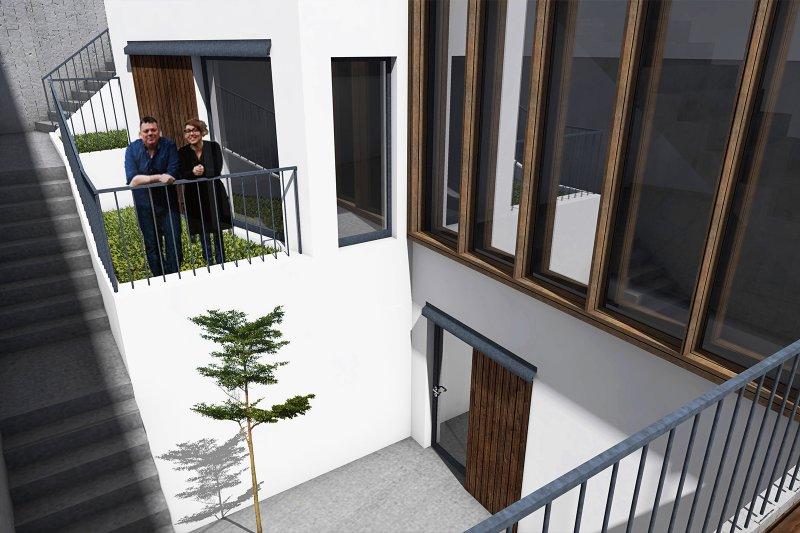 Terrain de 1290 m² avec projet approuvé pour 4 maisons unifamiliales - Centre Historique d'Alcobaça | BVP-TD-929 | 3 | Bien vivre au Portugal