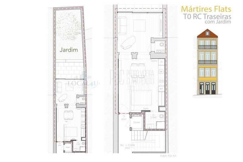 Appartement T1 de 40 m² avec terrasse - Porto / Cedofeita | BVP-TD-936 | 14 | Bien vivre au Portugal