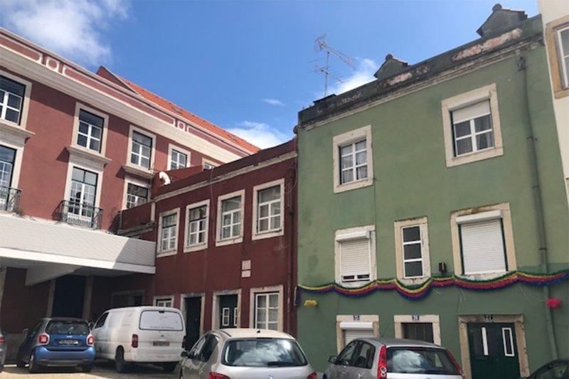 Prédio de 285 m² de frente para o Panteão Nacional - São Vicente / Graça | BVP-TD-937 | 1 | Bien vivre au Portugal