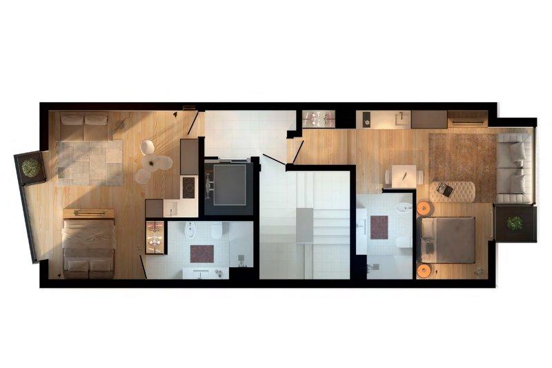 Programme immobilier: T0 - Paranhos / Porto | BVP-TD-954 | 6 | Bien vivre au Portugal