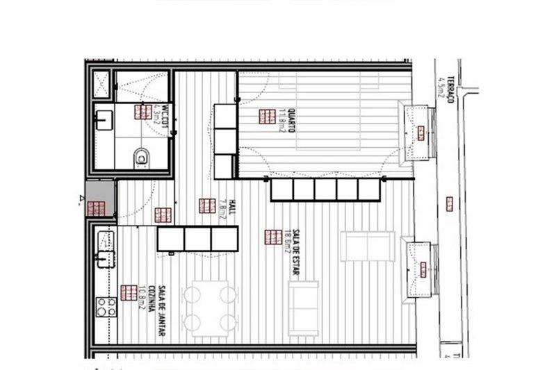 Appartement T1 de 63 m² - Vitória / centre Porto (Baixa do Porto) | BVP-FaC-964 | 7 | Bien vivre au Portugal