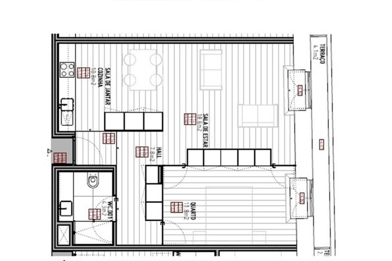 Appartement T1 de 64 m² - Vitória / centre Porto (Baixa do Porto)| BVP-FaC-965 | 7 | Bien vivre au Portugal