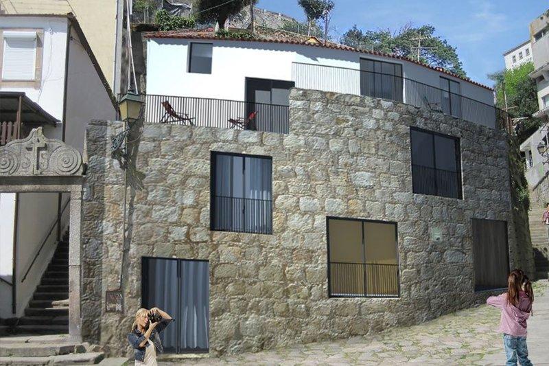 Immeuble à réhabiliter avec projet approuvé – Miragaia / Porto   BVP-PF-968   1   Bien vivre au Portugal