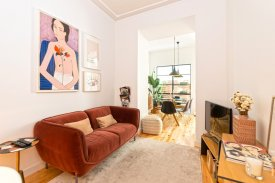 <p class= annonceFrom >Lisbon real estate</p> | 2 bedrooms Apartment furnished of 80 sqm - Lisbon / Lapa | BVP-FaC-1032