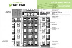 <p class= annonceFrom >Lisbonne immobilier</p> | Immeuble inoccupé - Saldanha / Mercado 31 Janeiro