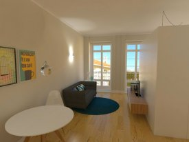 <p class= annonceFrom >Porto real estate</p> | Studio T0 of 28 sqm - Baixa do Porto / Sé | BVP-FaC-758