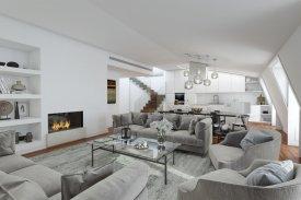 <p class= annonceFrom >Lisbonne immobilier</p> | Appartement T2 de 180 m² avec terrasse et piscine - Misericórdia / Chiado | BVP-FaC-790