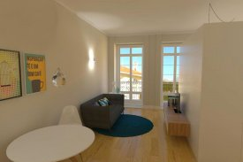 <p class= annonceFrom >Porto immobilier</p> | Appartement T1 de 36 m² - Baixa do Porto / Sé | BVP-FaC-826