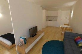 <p class= annonceFrom >Porto real estate</p> | Apartment T1 of 38 sqm with garden - Baixa do Porto / Sé | BVP-FaC-827