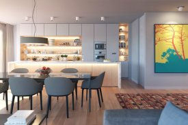 <p class= annonceFrom >Lisbonne immobilier</p> | Duplex T3+1 de 197 m² en penthouse - Parque das Nações | BVP-FaC-874